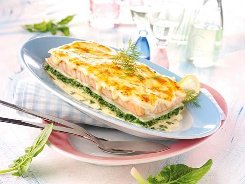 cuisine passion lasagne aux saumon. Black Bedroom Furniture Sets. Home Design Ideas